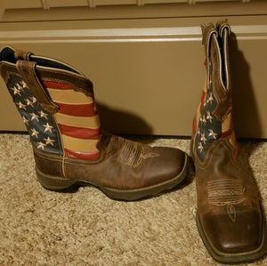 Durango American Flag Boots